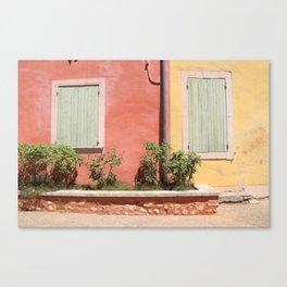 colorful france Canvas Print