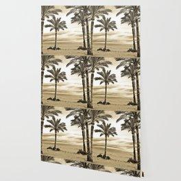 Palm Trees in Spain Wallpaper