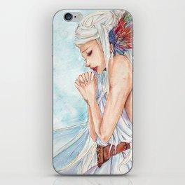 Hopeful Princess iPhone Skin