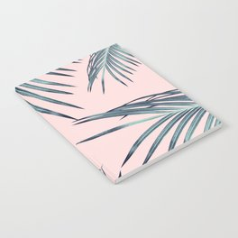 Blush Palm Leaves Dream #1 #tropical #decor #art #society6 Notebook
