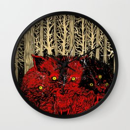 HELL WOLVES Wall Clock
