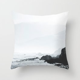 Sea Waves Seascape, Ocean Waves Photography, Sea Coast, Sea Beach Tapestry, Pillow etc Throw Pillow