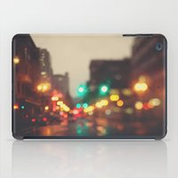 portland iPad Cases featuring Portland In The Rain by Laura Ruth