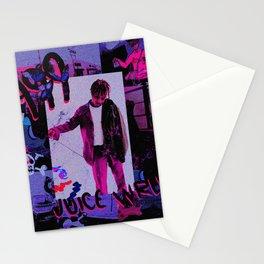 Juice WRLD art Stationery Cards