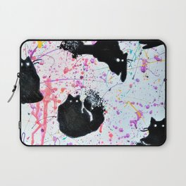 Clumsy cats Laptop Sleeve