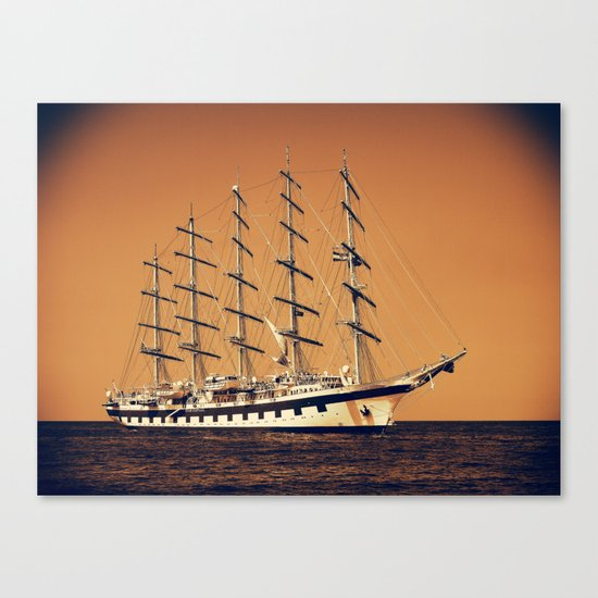 Old Ship Canvas Print