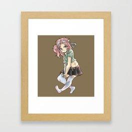 Natsu Makeover! Framed Art Print