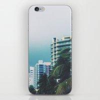 miami iPhone & iPod Skins featuring Miami  by Anna Zurowska