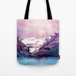 Coloful Lake Louise Tote Bag