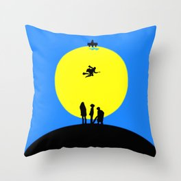 Watching Somebody Flying Throw Pillow
