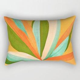 Summer Cactus Rectangular Pillow