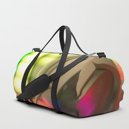 Headphones on a launchpad Duffle Bag