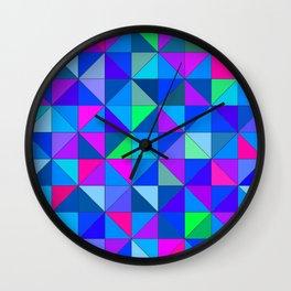 Blue 2 Wall Clock
