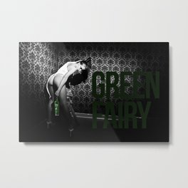 GREEN FAIRY V Metal Print