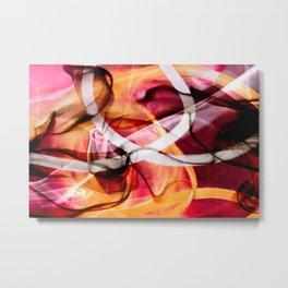 Smoke 01 Metal Print