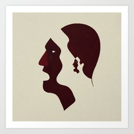Talk Less Listen More Art Print