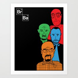 Cartoon Bad Art Print