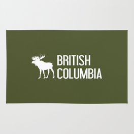 British Columbia Moose Rug