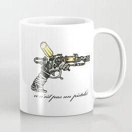 Raygun this is not a pipe Coffee Mug