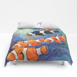 Clownfish Paradise Comforters