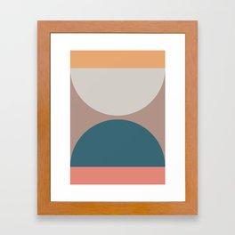 Abstract Geometric 23 Framed Art Print