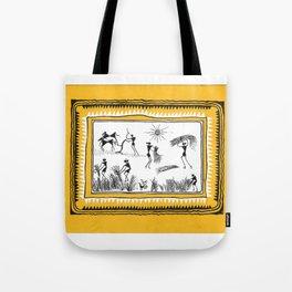 Roosters (Nibedita Khosla) Tote Bag