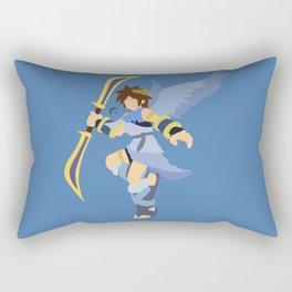 Pit(Smash)Blue Rectangular Pillow