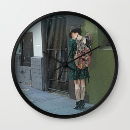 Texting One, Two,... Wall Clock