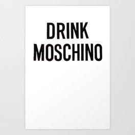 moschino sweater moschino Art Print