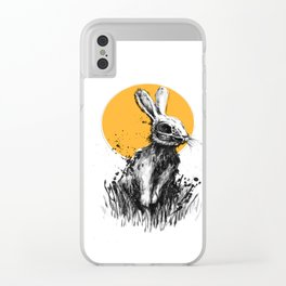 Rabbit 2 Clear iPhone Case
