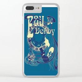 Eau de Derby Clear iPhone Case