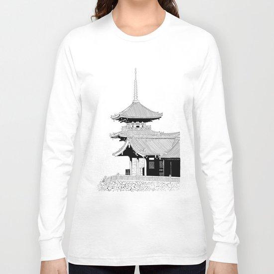 Kyoto - Kyomizudera Long Sleeve T-shirt