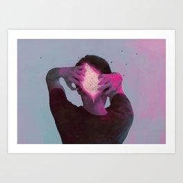 Between Rivers, 19 No.2 Art Print