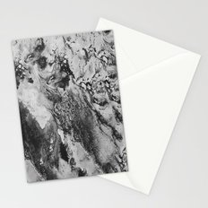 White: Paint Stationery Cards