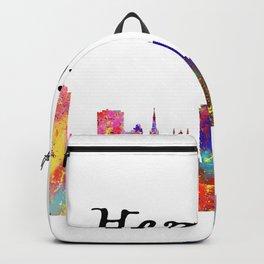 Hamilton Quote Art Design Inspirational Motivatio Backpack