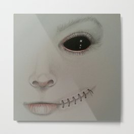 Blackeye Metal Print