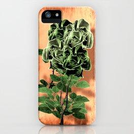 WILD IRISH ROSE - 051 iPhone Case