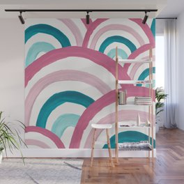Rainbow Dream Pattern #2 (Kids Collection) #decor #art #society6 Wall Mural