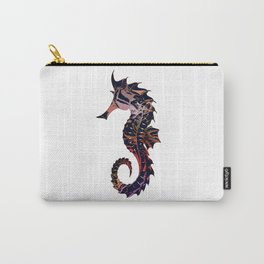 Art seahorse print Carry-All Pouch
