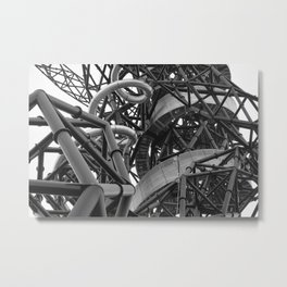arcelor mittal orbit, london Metal Print