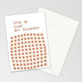 Cool Modern Checkered Patern Stationery Cards