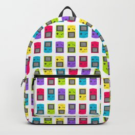 Gameboy Color Pattern/Print Backpack