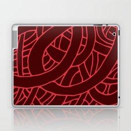Microcosm in Red Laptop & iPad Skin