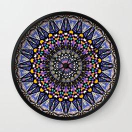 Memphis Dreams Kaleidoscope Wall Clock