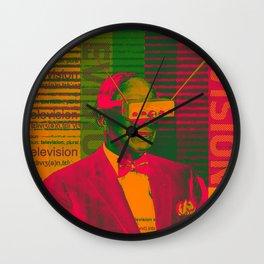 TELEVISION VISION Wall Clock