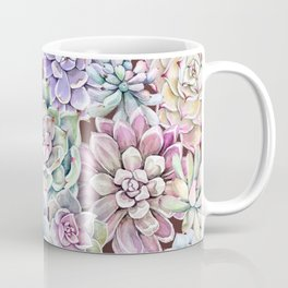 succulent allover Coffee Mug
