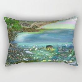 Save the Mangroves! Rectangular Pillow