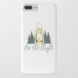 Be the Light Christian Inspiration Lantern  iPhone Case
