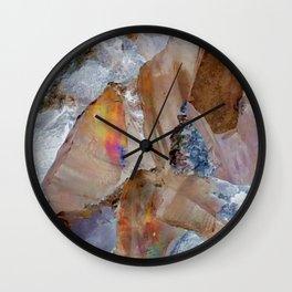 Minerals Wall Clock