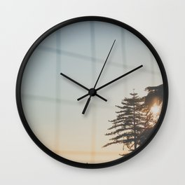 Fall afternoon Wall Clock